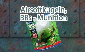 Airsoftkugeln, BB's, Munition
