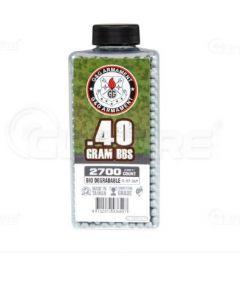 G&G Bio 6mm BBs 0,40g, 2700Stk.  Flasche