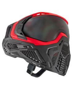 Paintball Maske HK Army SLR Lava rot / schwarz