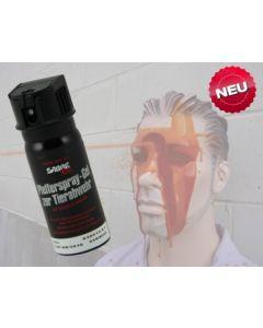 Pfeffergel 50 ml Sabre Red MK-3 50 ml inkl. Flip-Top und Gürtelholster (GP 100ml = 49,80€)