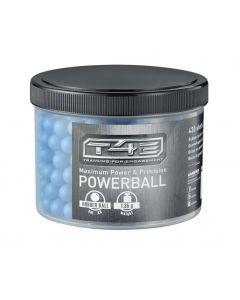 T4E Powerballs (Rubberball) cal. .43, 430 Stück, blau