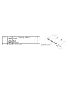 Front Bolt Assembly für Tippmann M4 Airsoft