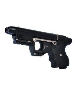 JPX Jet Protector Pfefferspray-Pistole mit integriertem Laser, 2 Schuss