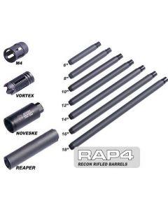 """MCS Recon Rifled Barrel 14"""", .689, für Spyder-Gewinde, Außendurchmesser 1 Zoll, (22mm Muzzle Threads)"""