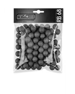 T4E  RB 68  Rubberball  cal. 68, 100 Stück, black