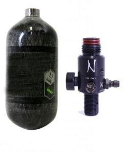 HP System 300 Bar mit Ninja Regulator und 1,1l Supralite Flasche