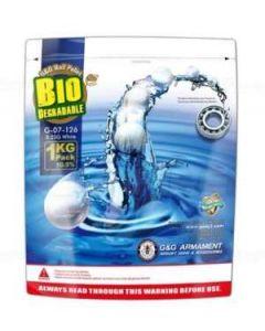 G&G 6mm BBs Bio 0.25g 1kg Pack