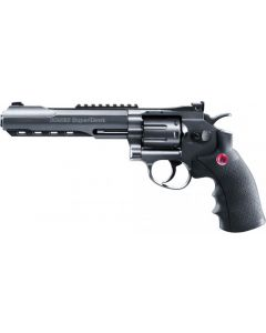 "Ruger SuperHawk 8"" black, Airsoft, CO-2"