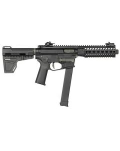 Ares M4 45 Pistol S-Class L, EFCS, 6mm BB, S-AEG, Black
