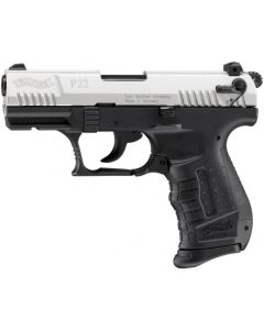 Walther P22 9mm P.A.K, bicolor