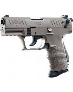 Walther P22 Q, 9mm PAK, FDE (Flat Dark Earth)