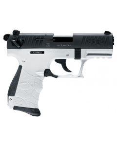 Walther P22 Q, 9mm PAK, chess black/ white