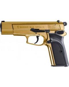Browning GPDA 9 Schreckschusspistole, 9mm P.A.K. gold