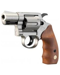 Colt Detective Special 9mm, Vernickelt, Holzgriff
