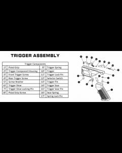 Trigger Sear PIN Rap4 468 #15T