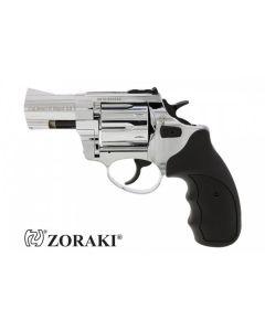 """Zoraki Mod. R1 chrom - 9x6 2,5"""" R.K. Schreckschuss Revolver"""