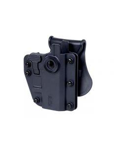 Swiss Arms AdaptX Universalholster Level 2 , Schwarz / OD Green / Grey