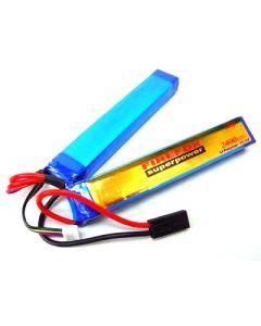 FireFox Superpower LiPo Akku 11,1V 2400mAh Twin Stick