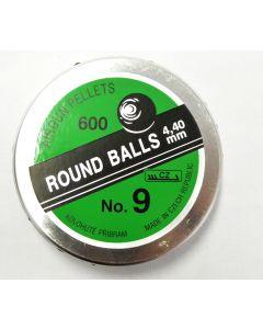 Air Gun Pellets Round Ball 4.4 mm (600)