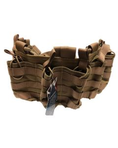 Front Line Operator Chest Rig (Weste), FDE tan