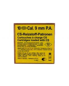 CS-Reizstoffpatronen cal. 9mm P.A. Abholung/ kein Versand