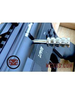 Custom DMR Bolt  Action Handle Modern, chrom stainless steel