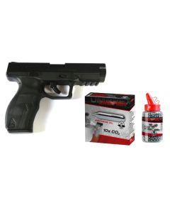 Umarex SA9 Set mit Munition und CO2 Kapseln