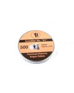 """H&N InnoMar No. """"01"""" Flachkopf Diabolos 4,5mm 500Stk."""