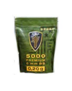 Elite Force Premium 6mm 0,20g, 5000 Stück