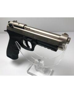 Ekol P92 Magnum, 9mm P.A.K vernickelt/satina