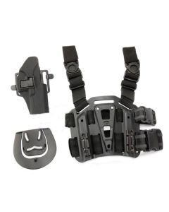V-Tech CQC Holster mit Plattform für G17 Modelle, schwarz