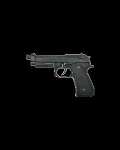G&G GPM92 MS Metal Version 6mm GBB Airsoftpistole, black