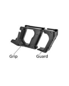 L.A.S. Kriss Vector Strike Knuckle Guard & Advanced Grip, black