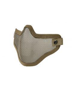 Gitterschutzmaske-Tan/ Mesh Mask