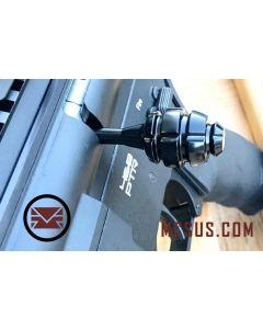 Custom DMR Bolt  Action Handle Grenade, black stainless steel