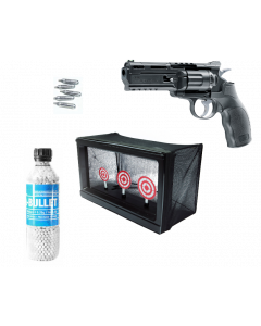 Elite Force H8R 6mm CO2 Revolver 1j Home Office Airsoft KIT