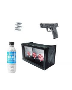 Smith & Wesson M&P 40, CO2 GBB cal. 6mm BB Home Office Kit