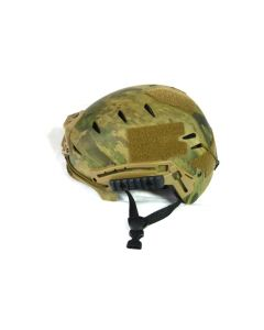 Emerson EXF Taktischer Helm mit 20mm Weaver Schiene, Waldtarn