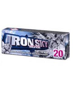 Umarex Iron Sky Silver, cal. 15mm, 20er, Nur Ladenverkauf-Kein Versand