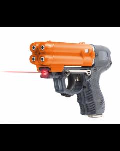 Pfefferspray JPX6 Jet Protector mit 4 Schuss Speedloader mit Laser