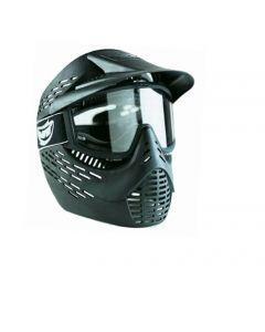 JT Elite Radar Maske schwarz mit einfachem Glas