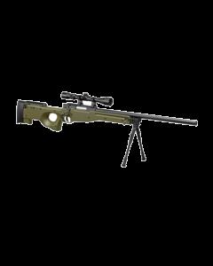 Well L96 Sniper >1,8Joule Federdruck 6mm BB upgraded Set Oliv