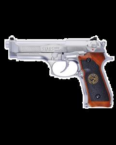 M92 Samurai Edge Biohazard ,GBB, 6mm BB ,Silver
