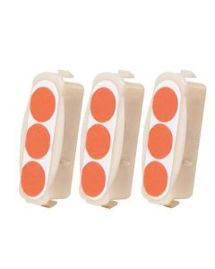 Ersatzkartusche 3er Pack für Pyro-Defender Selbstschutzgerät