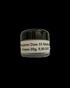 Molykote Fett Dow 33 Medium, Dose 20g (EUR 49,50/ 100g)