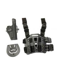 V-Tech CQC Holster mit Plattform für Sig Sauer P226, schwarz