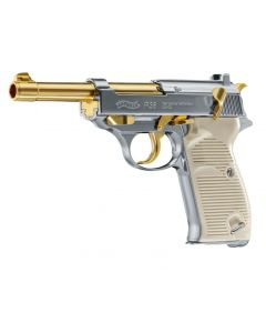 Walther P38 cal. 4,5 mm (.177) BB gold/Nickel