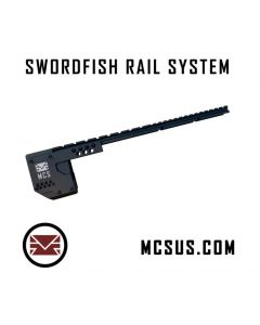 MCS Swordfish Rail System Typ A, Laufdurchmesser 7/8 Zoll, für RAP4 468