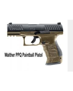 Walther PPQ M2 T4E cal. 43 schwarz/tan RAL8000