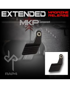 Rap4 Extended Mag Release for MKP MKPii DMAG Well